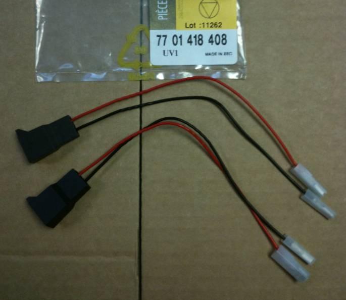 Adapterkabel zur Montage von Lautsprechern