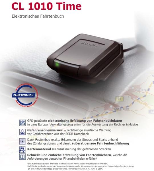 Bury CL-1010 Time elektronisches Fahrtenbuch