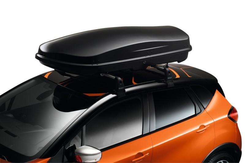 Dachbox 630 mit Renault Branding