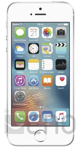 Apple iPhone SE 64 GB silber