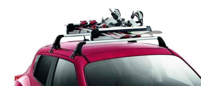 Ski-/Snowboard-Träger, verstellbar für bis zu 6 Paar Ski