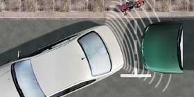 NISSAN Einparkhilfe, hinten, in Wagenfarbe lackiert