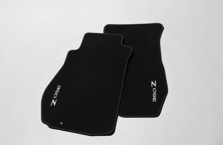 """Textil-Fußmatten mit gesticktem """"Z""""-Logo"""