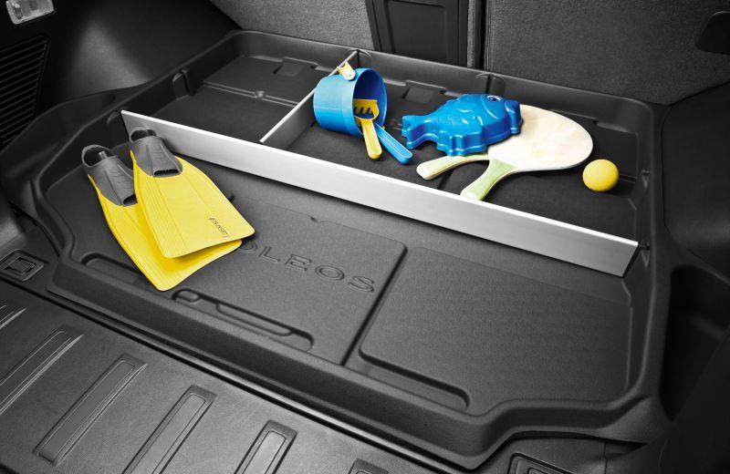 Kofferraumschale mit Trennelementen