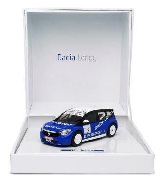 Modellauto Dacia Lodgy blau