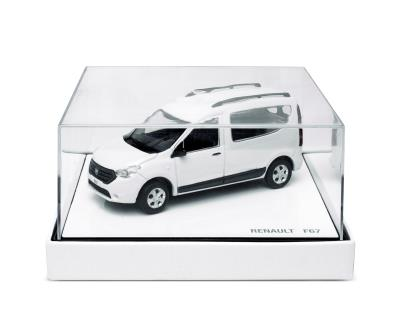 Modellauto Dacia Dokker weiß