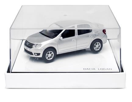 Modellauto Dacia Logan II grau