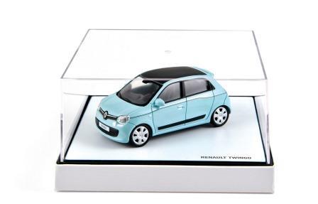 Modellauto Twingo III blau