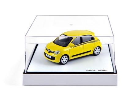 Modellauto Twingo III gelb