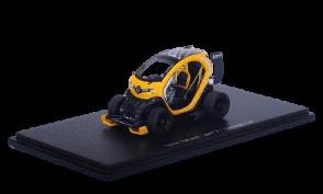Modellauto Twizy RS gelb