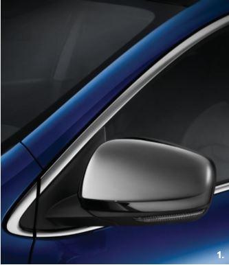 Außenspiegelschalen Chrom-Look