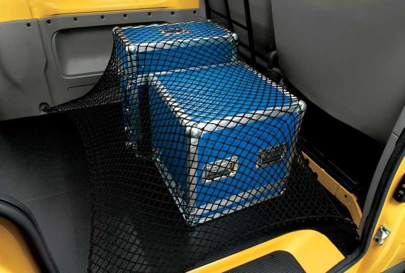 Gepäcknetz für den Kofferraumboden