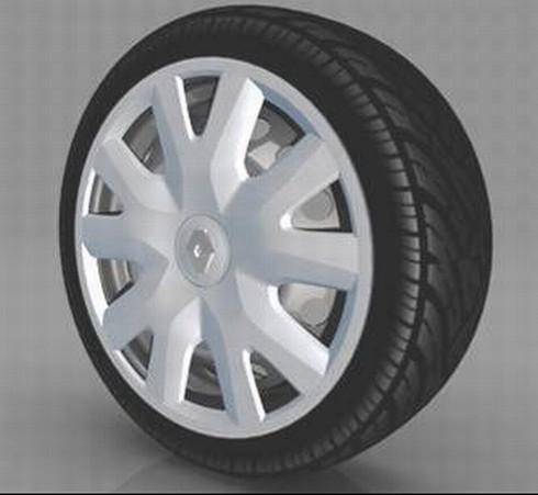 """Radzierblende """"Gradiant"""", mit Renault Logo (4 Stück)"""