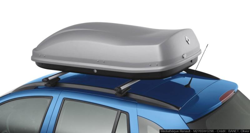 Dachbox 480 mit Renault Branding